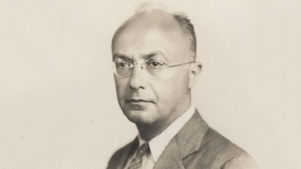 Photograph of Charles Reznikoff, undated