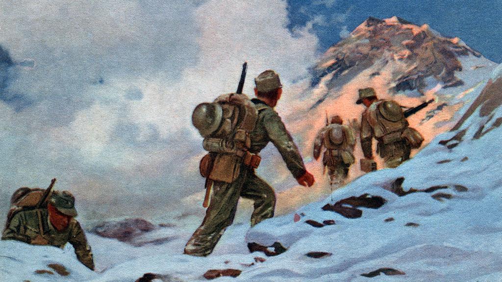 Nazi Art Postcard, circa 1940