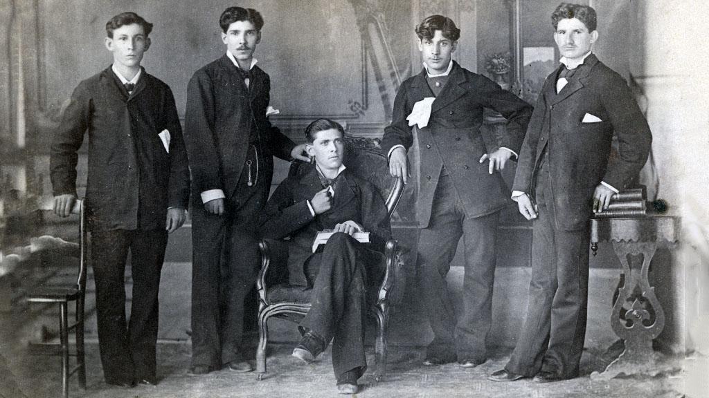 Group Portrait with Eduardo Cruz, 1882