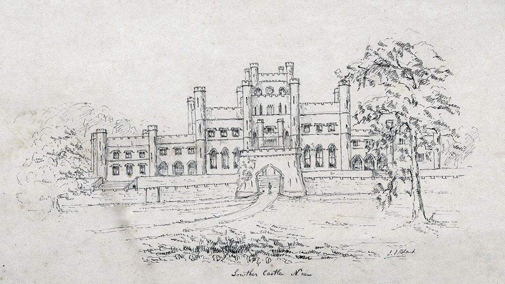 Sketch of a Castle, undated