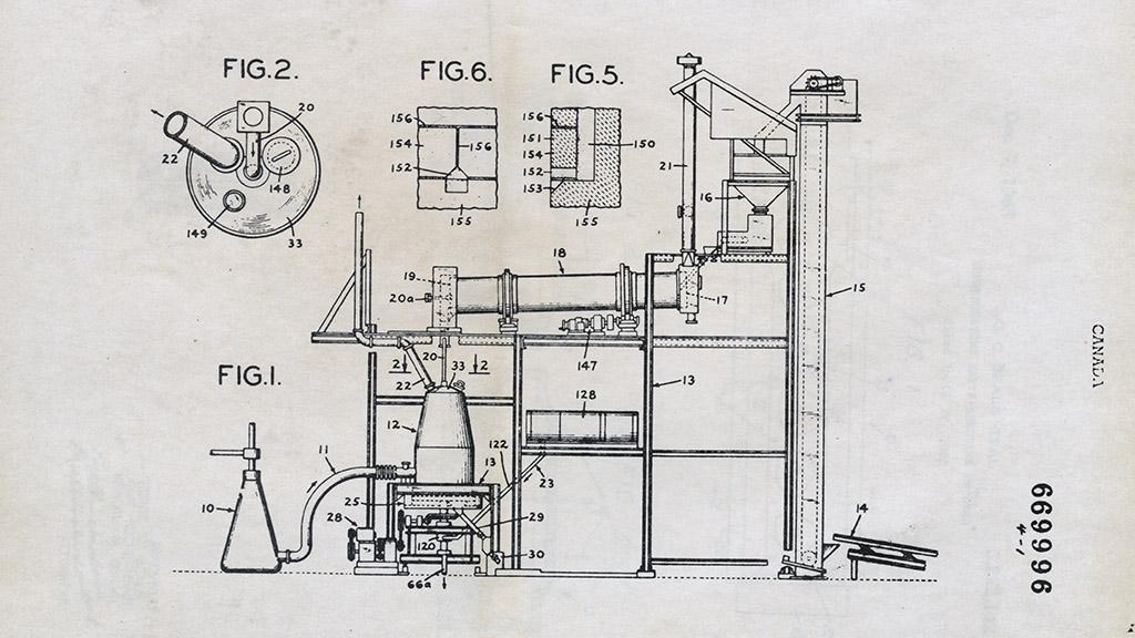 Canadian Patent Method for Producing Sponge Iron, 1963