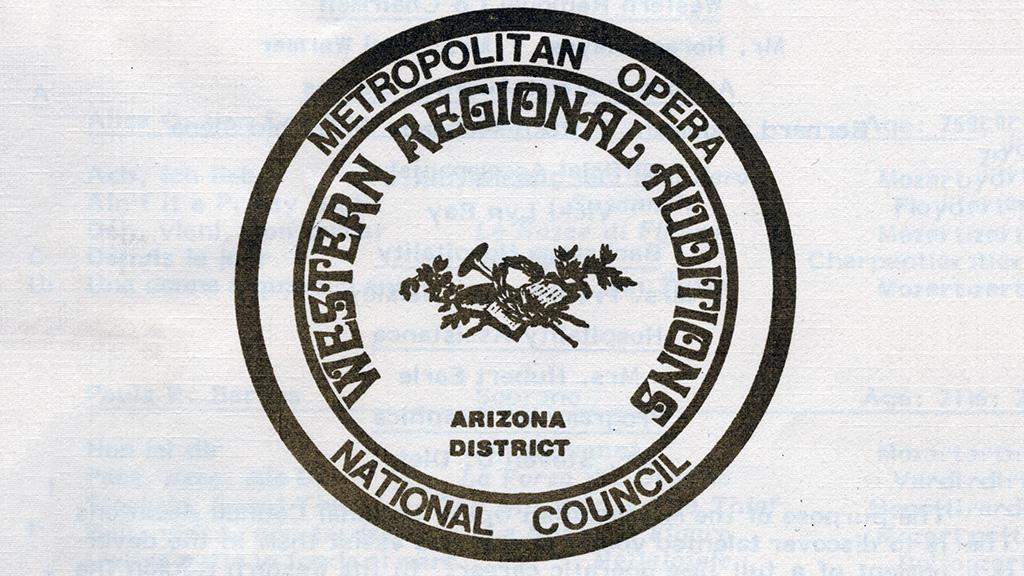 Metropolitan Opera Western Regional Auditions, Arizona District, 1982