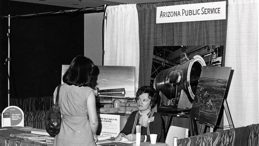Arizona Public Service Booth, undated