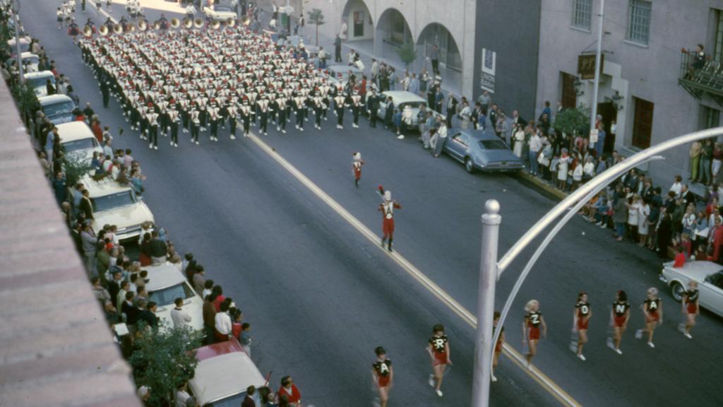 University of Arizona Parade, 1966