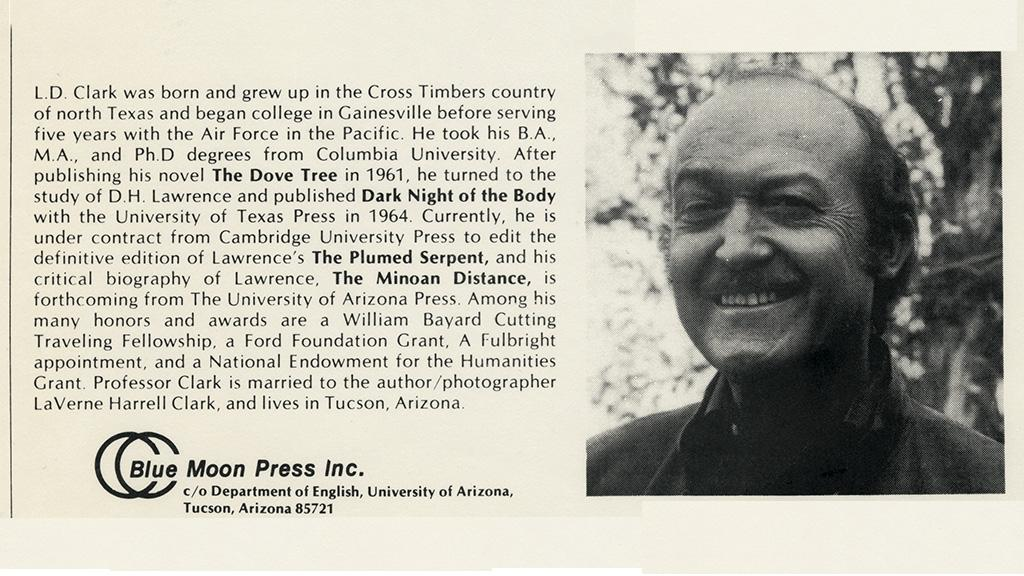 L.D. Clark Press Release, undated