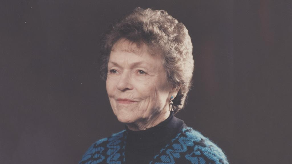 Portrait of Fay Jackson Smith, 1993