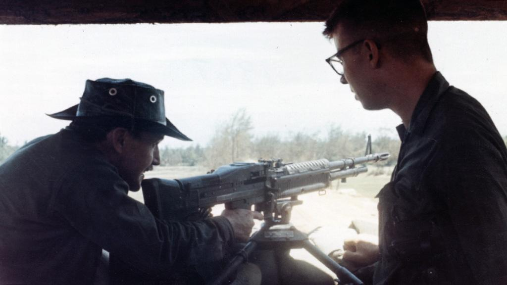 William Eastlake in Vietnam, August, 1967
