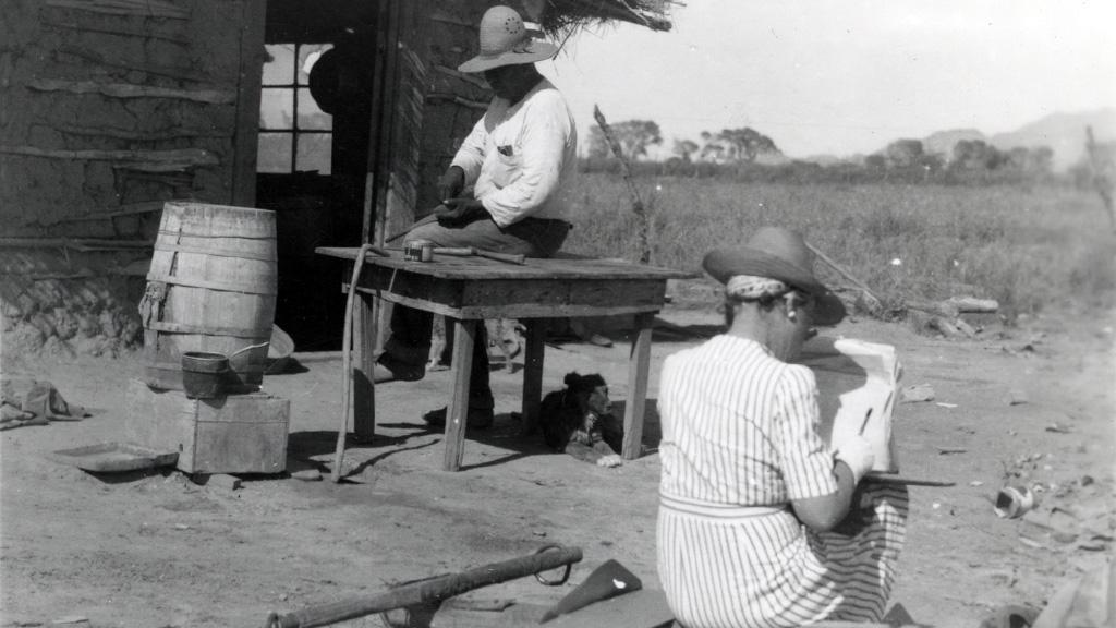 Pelvin Newman Sacaton Reservation, May, 1941