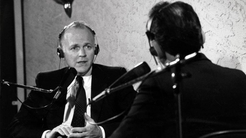 Dennis DeConcini Interviewing for 1988 Campaign