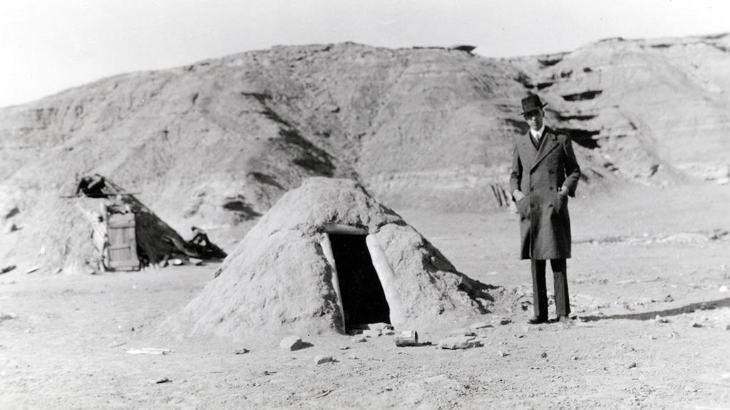Navajo Bath House, Sweat Hogan, undated
