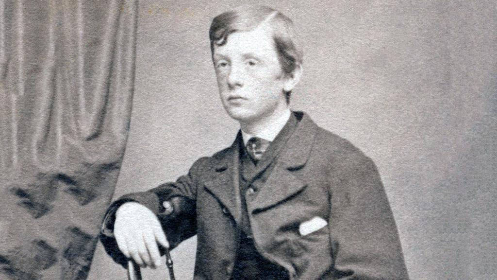 Photograph of a Young Boy, Possibly George Andrews, circa 1880