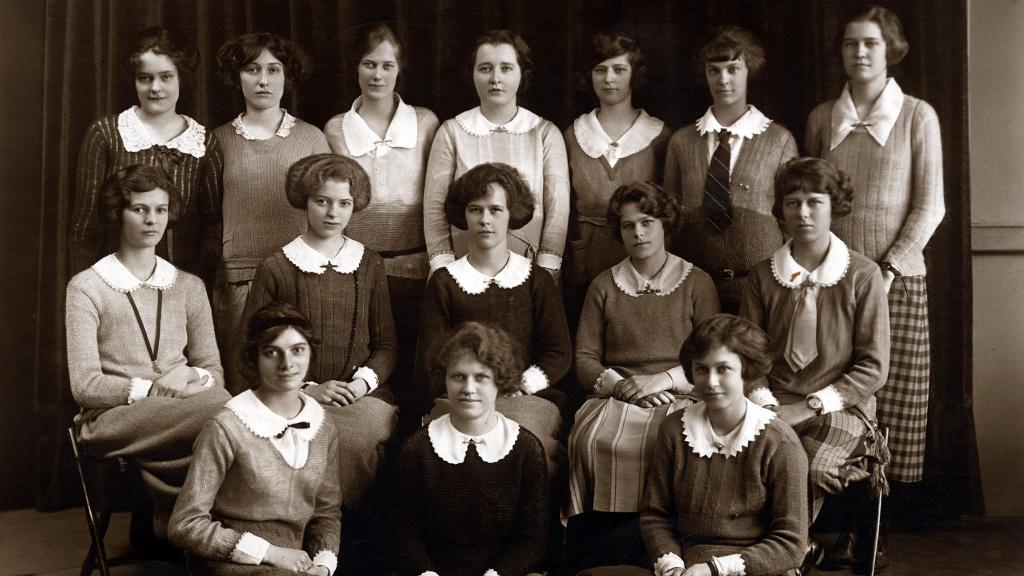 Mary Louise Mabie School Photograph, circa 1910