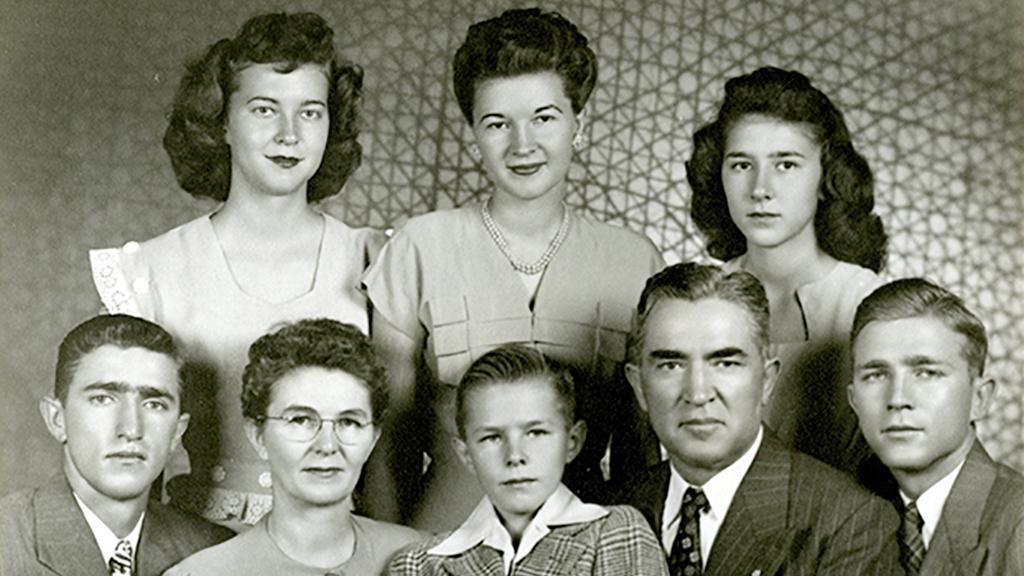 Jesse A. Udall Family