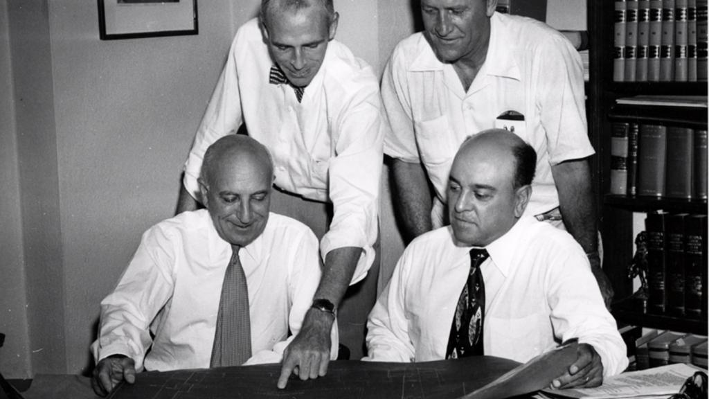 Alex Jacome Reveals Plans for New Jacome's Store, August 11, 1950