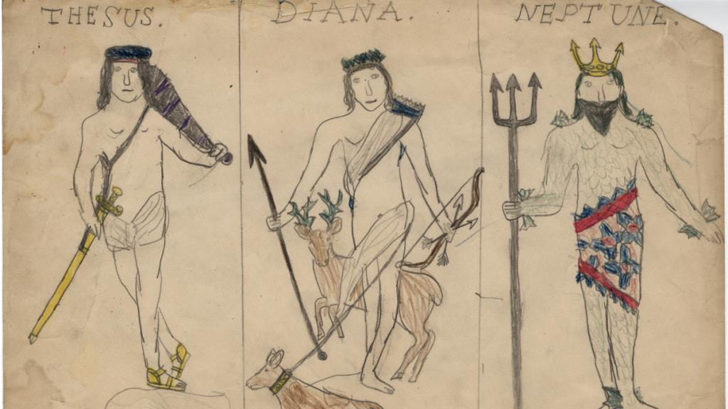 Thesus, Diana, and Neptune, undated