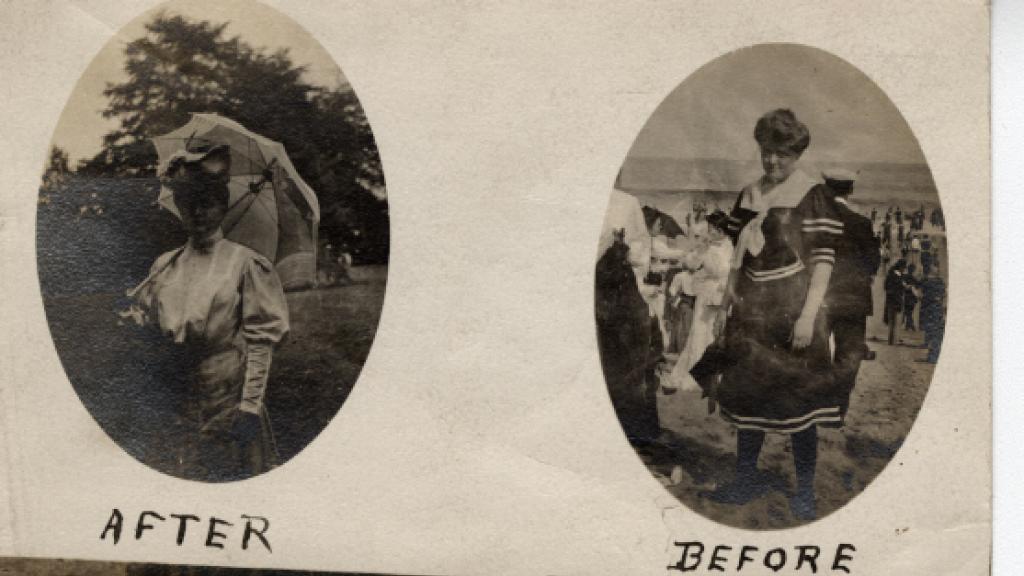 Photographs of Mabel Sanford, circa 1905