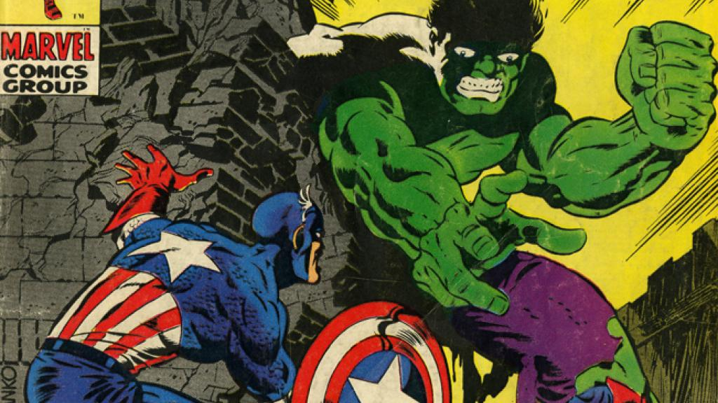 captain america and bucky barnes vs the hulk special collections