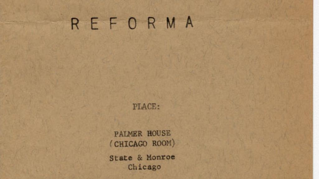 REFORMA Conference Program, June 26-27, 1972