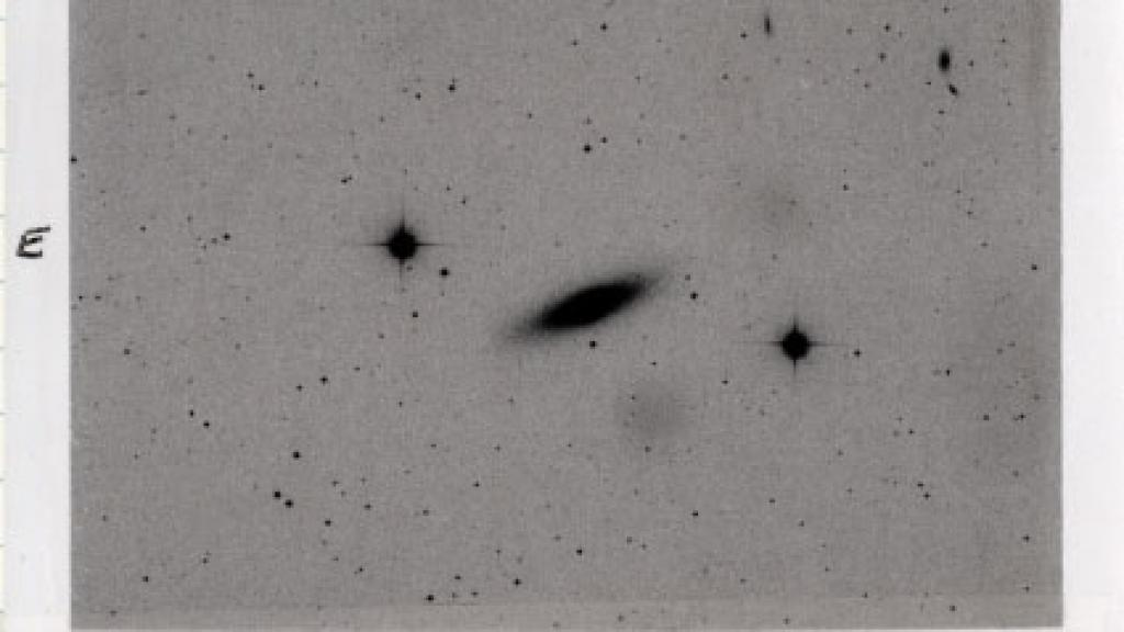 Elliptical Galaxy Observation of NGC 4382, 1980