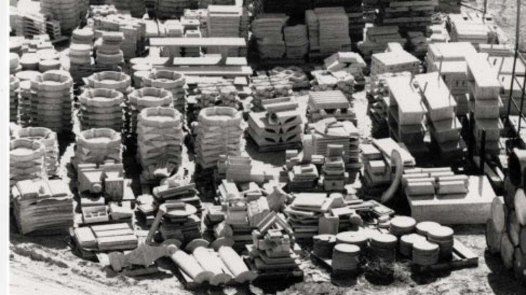 Pallets of Concrete Designs, March 21, 1979