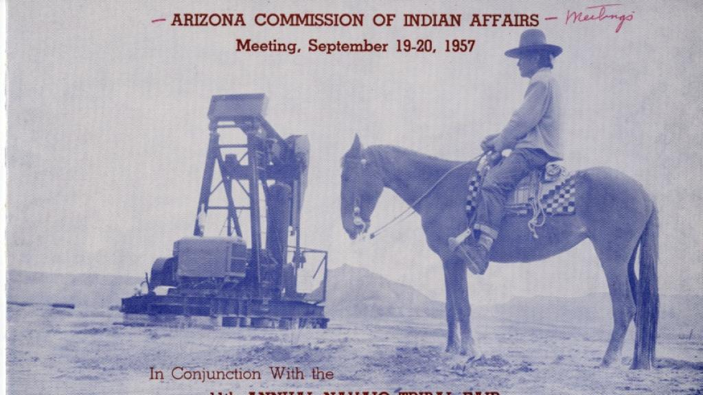 Arizona Commission of Indian Affairs Program, September 19-20, 1957