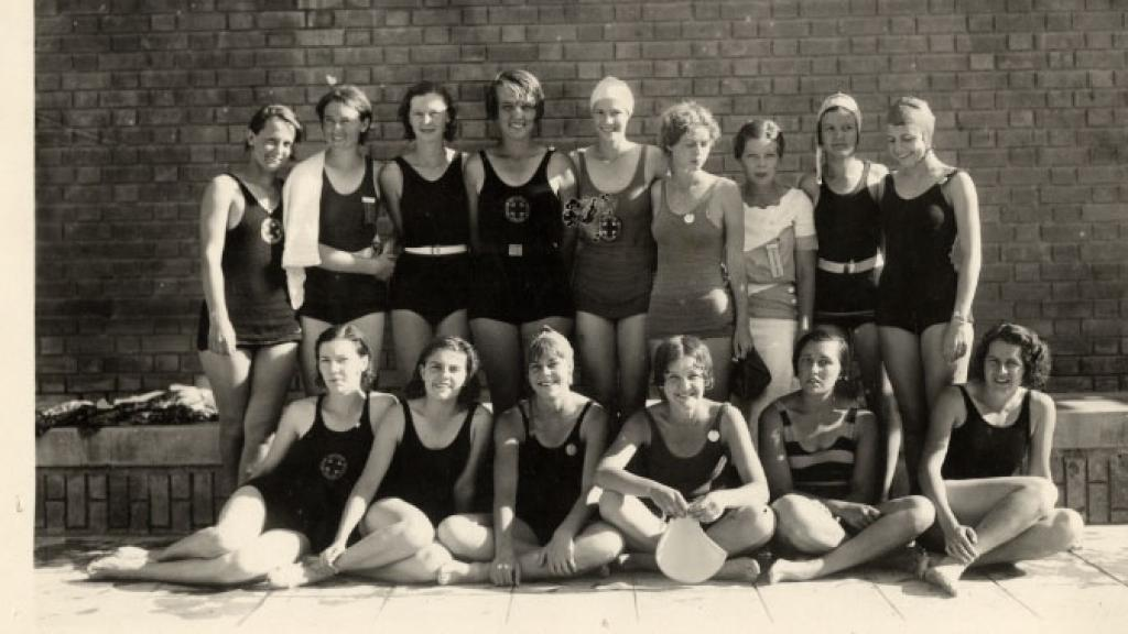 University of Arizona Women's Swimming Team, 1931