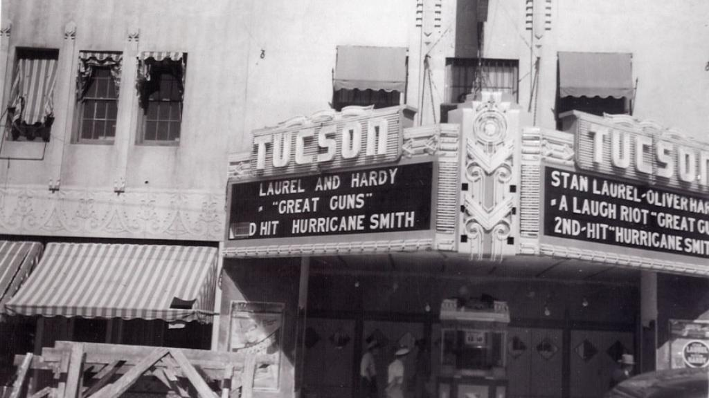 Fox Theater Facade from Gus Mazon Photograph Album, 1941