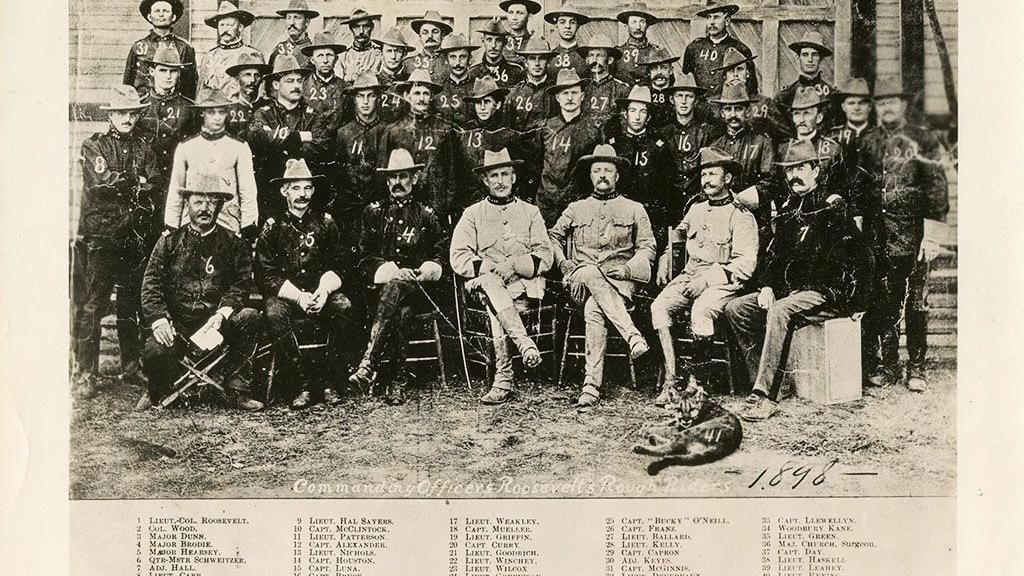 Rough Riders Group Photograph