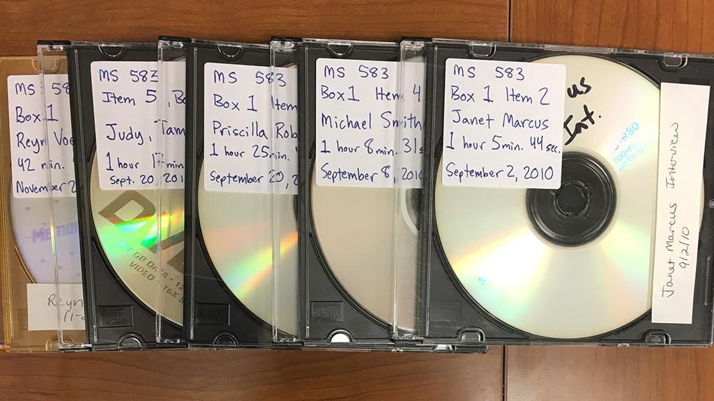 CDs with Planned Parenthood Interviews