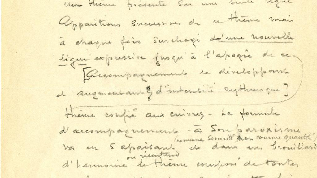 Notes On Othello And Poeme Symphonique Special Collections