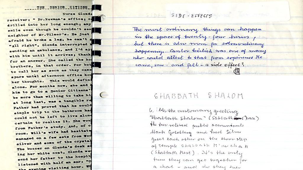 Excerpts from the Margaret Collins papers