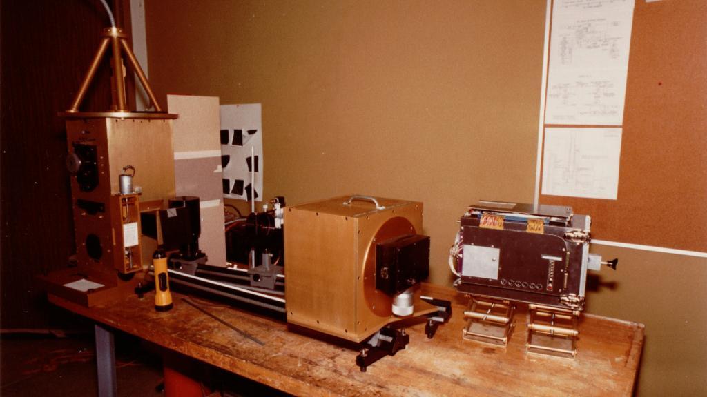 Radial Velocity instrument, circa 1984