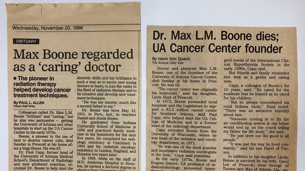 Max Lee Morrison Boone, MD, PhD obituaries