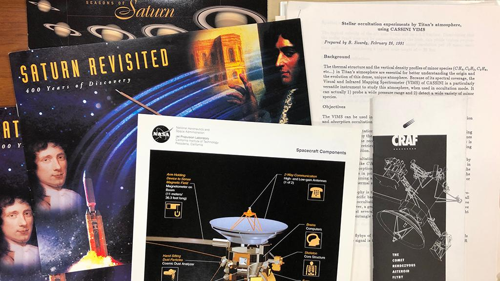Cassini Orbiter publications and graphics