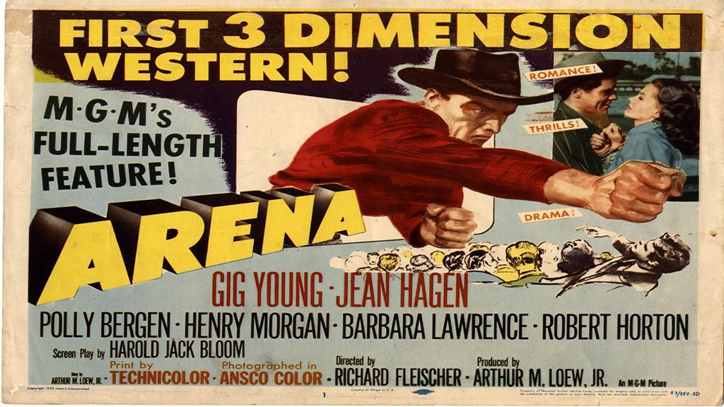 Arena Lobby Card, 1953