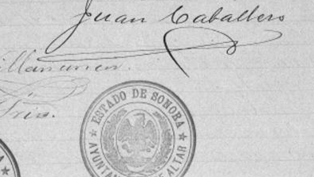 Manuscript of Land grant: To Juan Rochel and José Rico, January 30, 1896, page 5