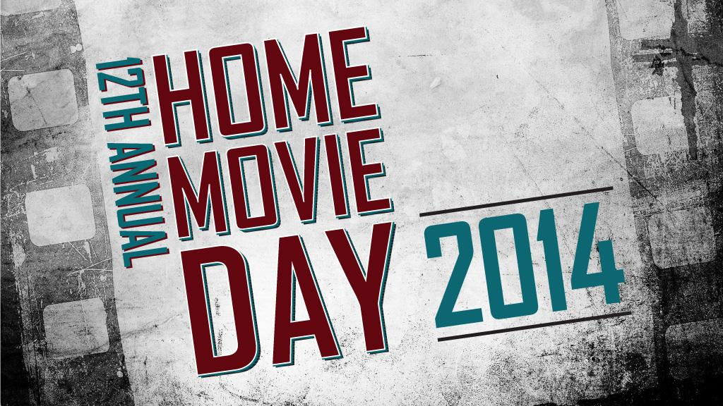 Home Movie Day Banner