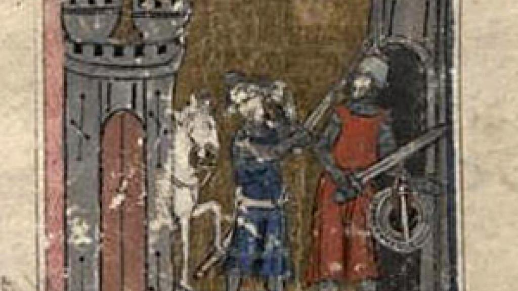 Image from the Auchinleck Manuscript