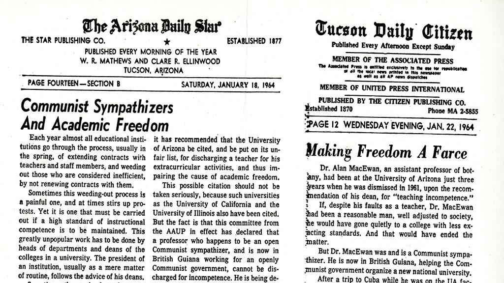 Academic freedom news editorials