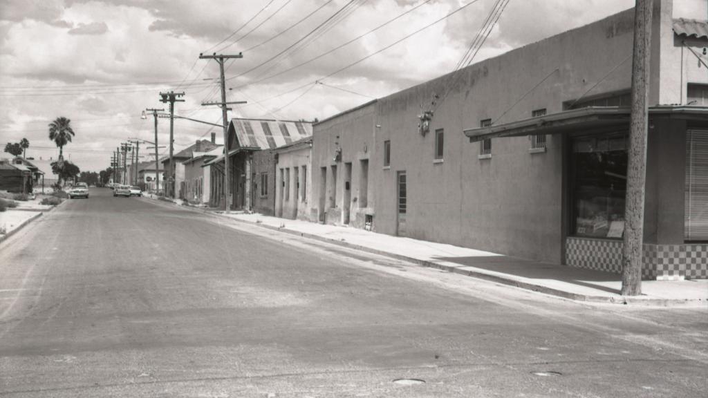Barrio Viejo, downtown Tucson.