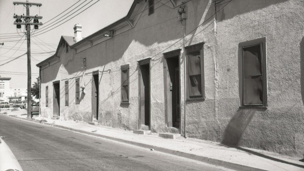 Barrio Viejo building, 1968.