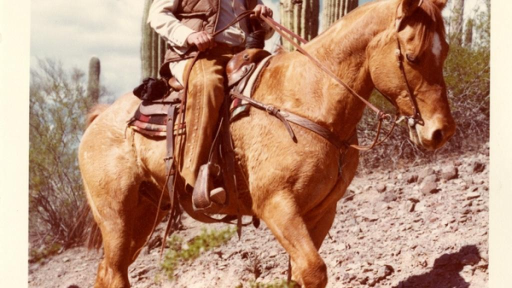 Governor Castro on Horseback
