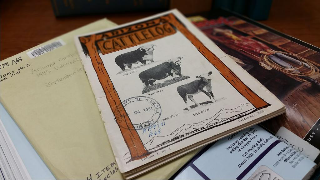 Cover of Arizona Cattlelog, Volume 1, Number 1, September, 1945