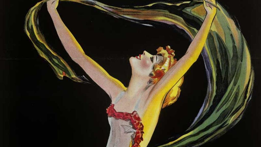 Artwork of dancing woman