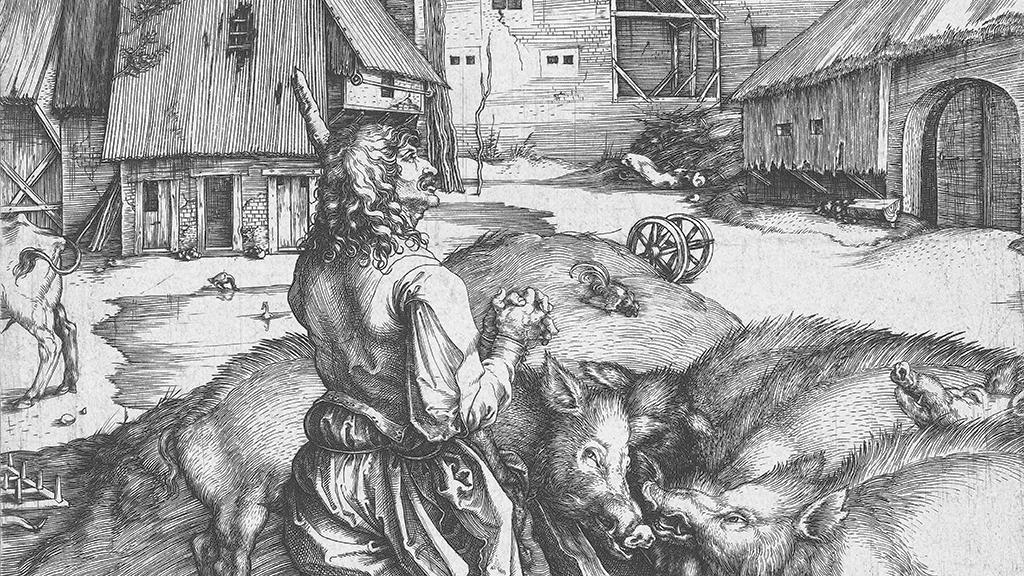 The Prodigal Son by Albrecht Dürer