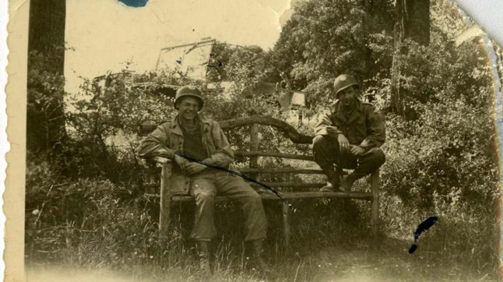Clark Mackenzie, WWII Germany, circa 1946