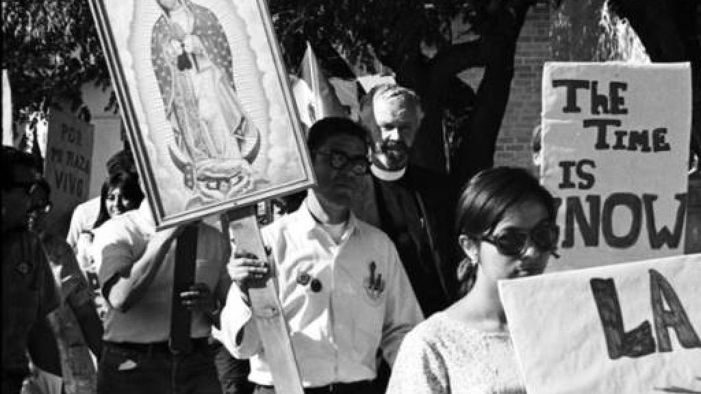 Mexican-American protestors