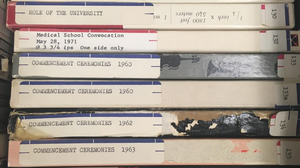 Examples from the University of Arizona audiotapes collection.