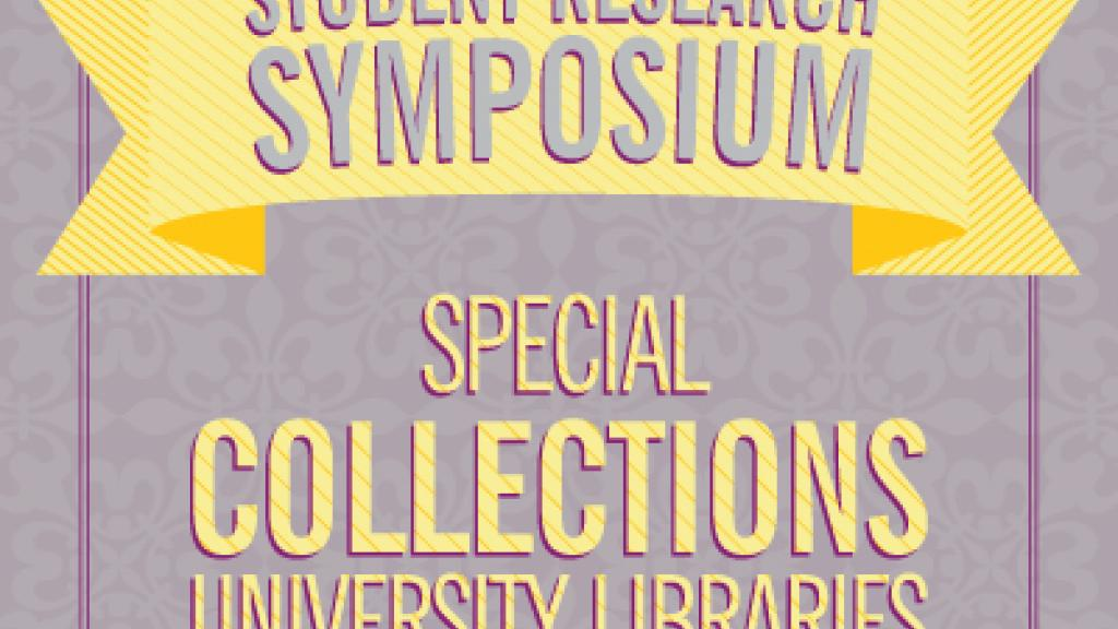 Student Research Symposium poster