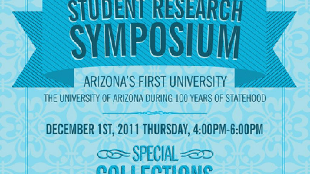 2011 Student Research Symposium poster